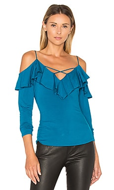 Nicola Top in Teal