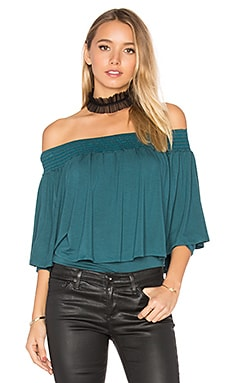 Jessie Top in Dark Green