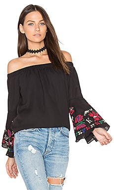 Fayme Top in Black