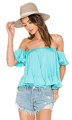 Evelyn Top in Mint
