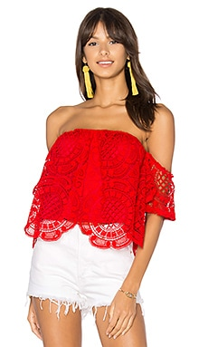 Laia Top en Rouge