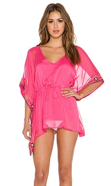 VAVA by Joy Han Norah Kimono Top in Fuchsia