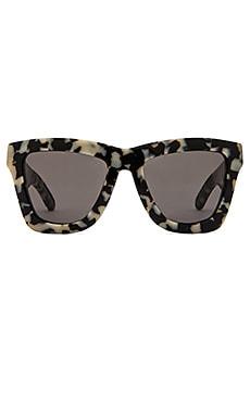 VALLEY EYEWEAR DB in Snow Leopard Tort &  Black Lens