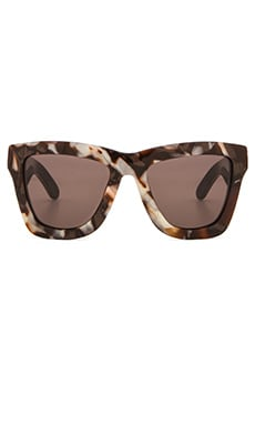 VALLEY EYEWEAR DB Sunglasses in Pearl Flake Tort & Brown