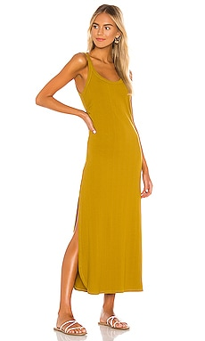 VESTIDO MIDI WEST vitamin A $110