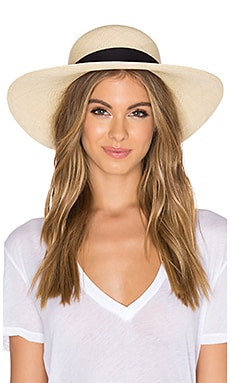 vitamin A Sol Hat in Natural & Black