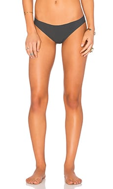 vitamin A Vera Reversible Hipster Bottom in Double Agent Charcoal & Blue