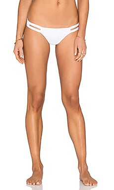 Neutra Hipster Bikini Bottom in Eco White