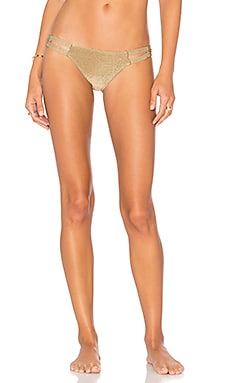 Neutra Hipster Bikini Bottom en Bronze Metallic