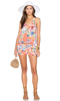 Regina Romper in Montego Bay Viscose