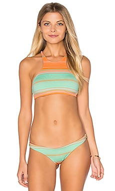 Cozumel High Neck Bikini Top