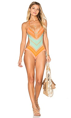 vitamin A So Ho Maillot in St Maarten Stripe
