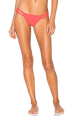 Neutra Hipster Bikini Bottom in Fire Coral