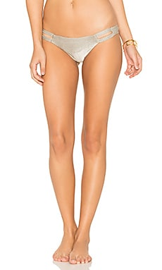 Neutra Hipster Bikini Bottom in Moonlight Metallic