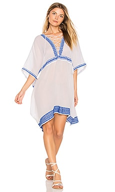 Isabell Short Caftan in Trade Winds