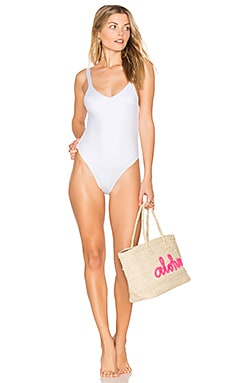 Leah One Piece in White