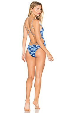 Lilli One Piece in Shibori Print