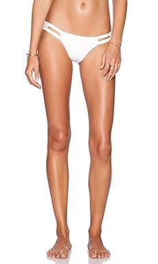 vitamin A Neutra Hipster Bikini Bottom in White Beyza
