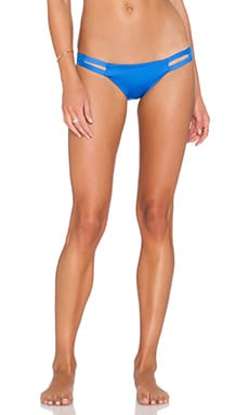 vitamin A Neutra Hipster Bikini Bottom in Vista Ecolux