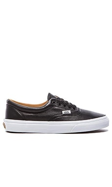 Vans Era in Premium Leather Black