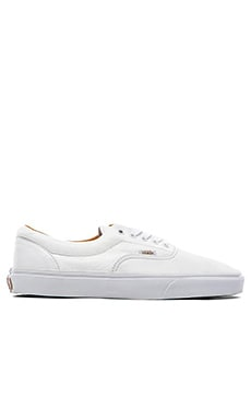 Vans Era in Premium Leather True White