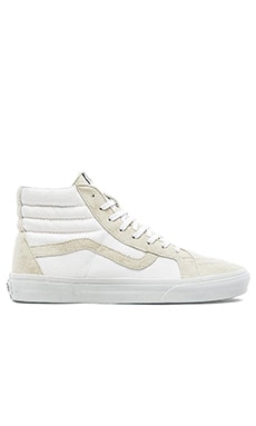 Vans California SK8 Hi Reissue in True White