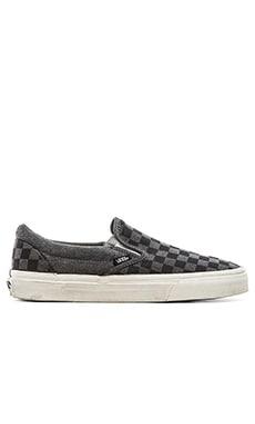 Vans Classic Slip On in Black Checker