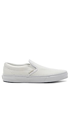 Vans Classic Slip-On CA in True White