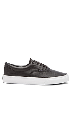 Vans Era Perforated Leather in Black
