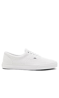 Vans Era Perforated Leather in True White