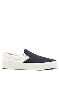 Vans California Classic Slip On Scotchgard in Blue Graphite