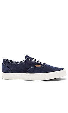 Vans California Era Decon Pig Suede Cactus in Ombre Blue