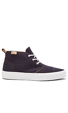Vans California Chukka Decon TC Brushed Twill in Dress Blues Tan