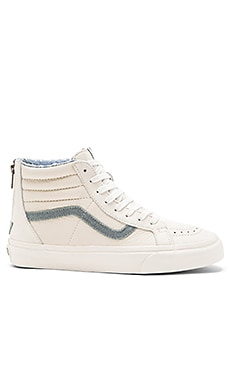 Vans California SK8 Hi Zip in Blanc de Blanc