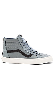 Vans California SK8 Hi Zip in Lead