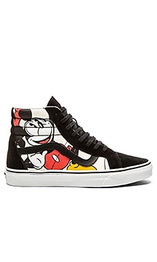 Vans SK8 Hi Reissue Disney in Mickey & Friends Black