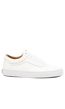 Vans Old Skool Premium Leather in White