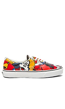 Vans Era Disney in Mickey & Friends Multi