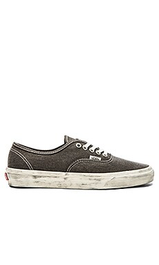Vans Authentic Overwashed in Black