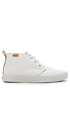 Vans California Chukka Decon TC Brushed Twill in White Tan
