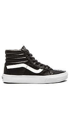 Vans SK8 Hi Reissue Premium Leather in Black