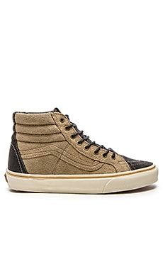 Vans California SK8 Hi 46 El Jefe in Black Incense