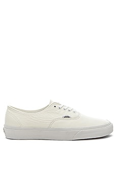 Vans Authentic Decon Premium Leather in True White