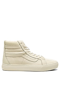 Vans California SK8 Hi Cup Leather in Whisper White