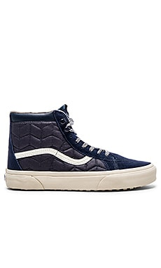 Vans California SK8 Hi MTE in Indigo Quilted
