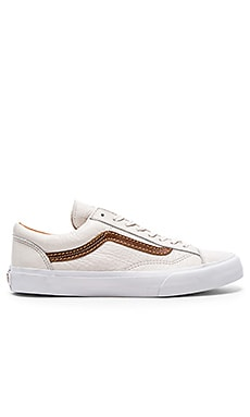 Vans California Style 36 in Winter White