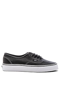 Vans Authentic in Black Plaid