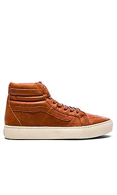 Vans California SK8 Hi Cup in Henna TurtCalifornia ledove