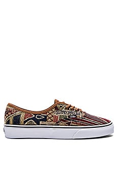 Vans Authentic in Brown Multi