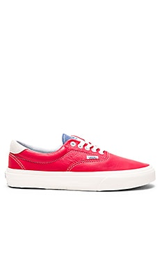 Vans Era 59 in Racing Red & Bijou Blue